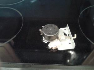 Oven Door Latch Repaired