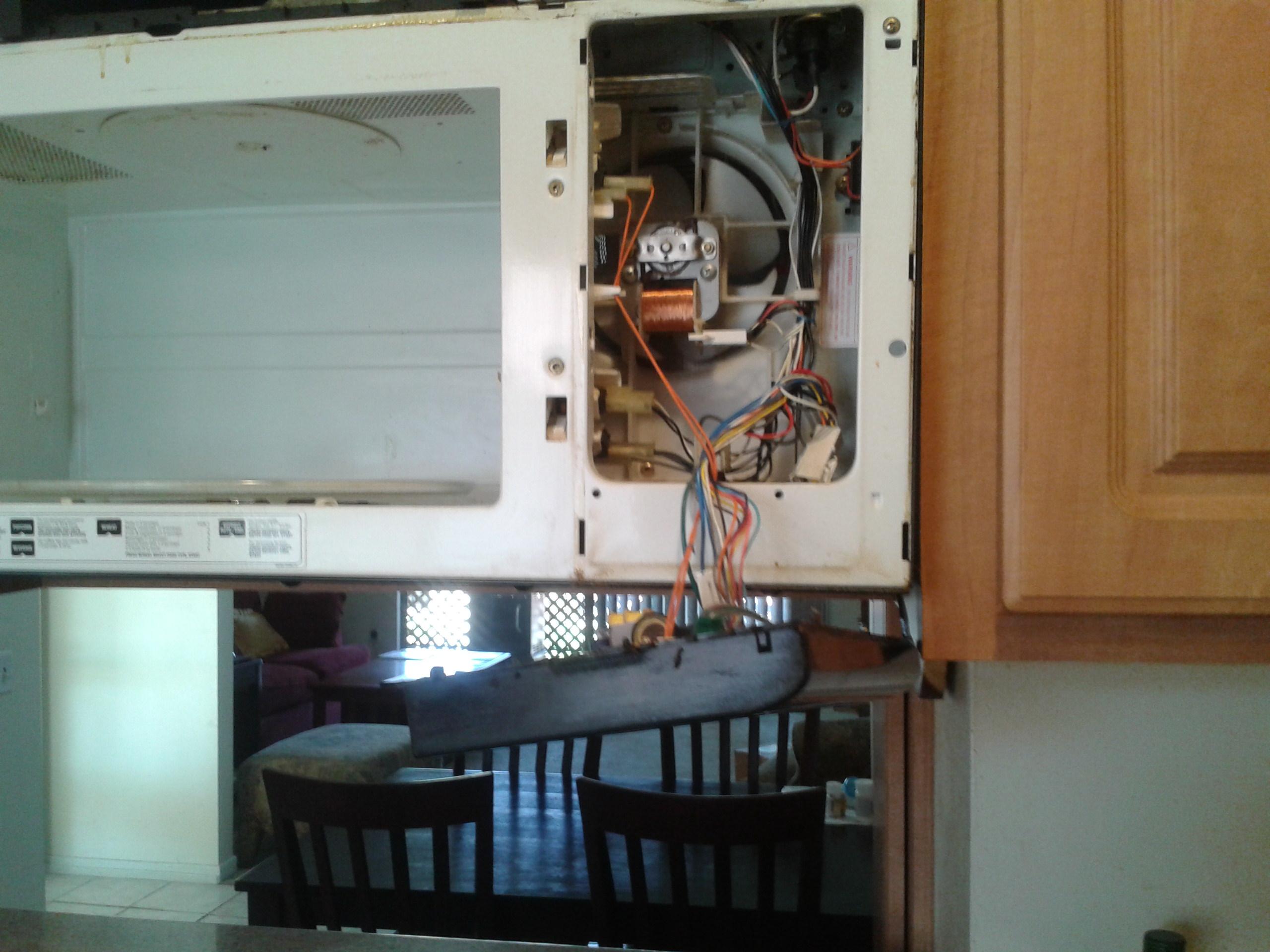 Microwave Repair Thermal Fuse Repair Sdacc
