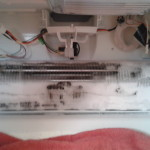 Frozen-Over Evaporator