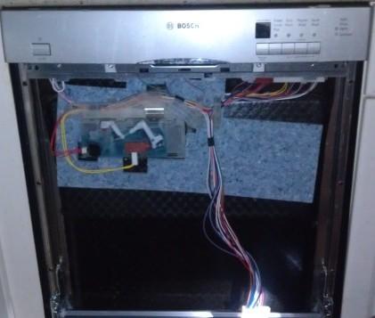 Bosch Dishwasher Repair Of Drain Pump In El Cajon Due To