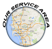 View our San Diego Service Areas
