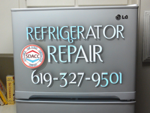 LG Refrigerator Repair in San Diego