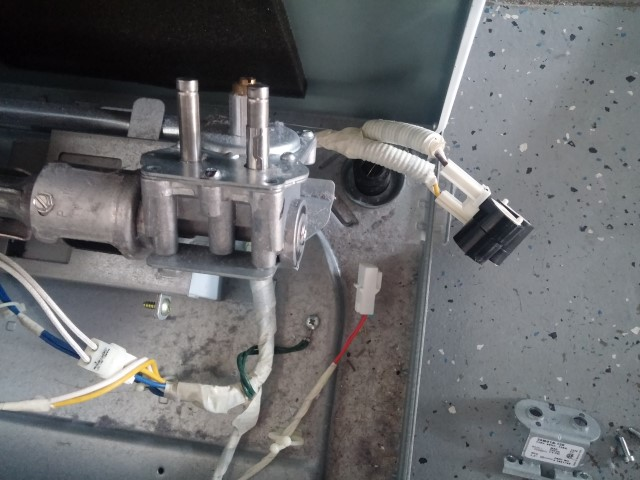 Replacing coils on Samsung Gas Dryer Coil Repair